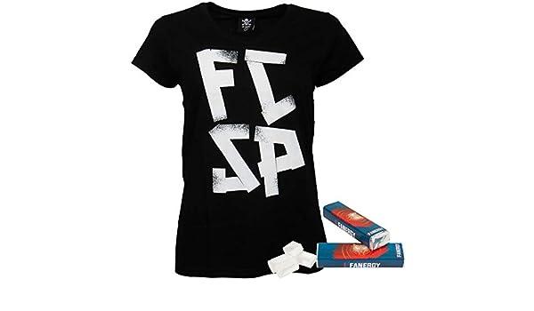 2X FANERGY Traubenzucker FC St Pauli T-Shirt Skully wei/ß