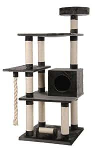xxl kratzbaum maine coon 2 grau speziell f r gro e und schwere katzen haustier. Black Bedroom Furniture Sets. Home Design Ideas