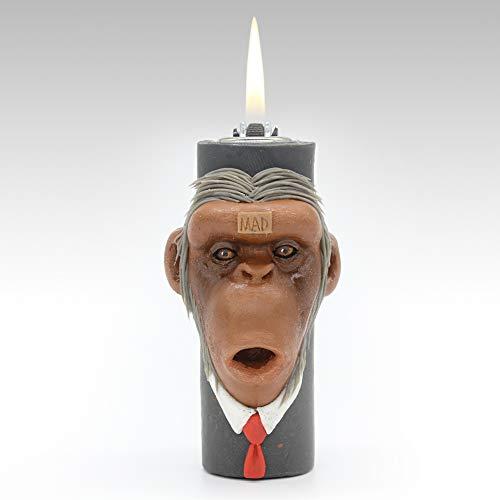 Anzüge Affe Leichtere Kreativ Persönlichkeit Rad Flint Porenbeton] Leichtere Freund senden Halloween Geschenk-A