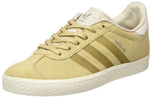 the best attitude bdc8e db2c3 adidas Gazelle Fashion, Zapatillas Unisex Niños, Marrón (Linen KhakiClear  Brown