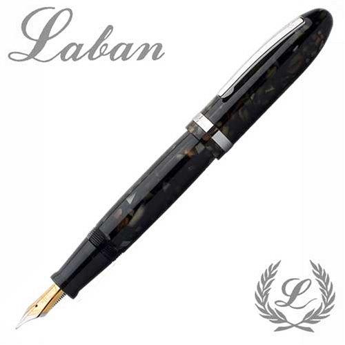 laban-mento-resin-fountain-pen-galaxy-black