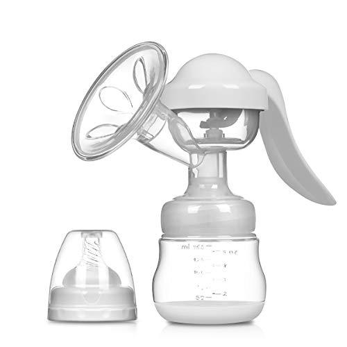 SONARIN Sacaleches Manual,Extractor de leche Transparente,libre de BPA y...