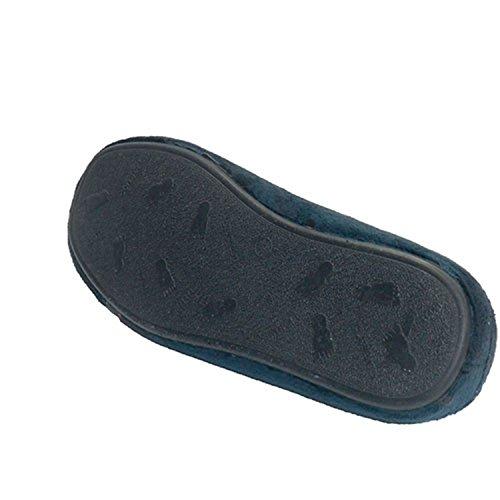 Chacla auf die Schaufel mit einem Hauttyp Streifen nach Hause Mann sein Calzamur marineblau Marineblau