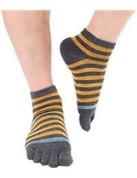 SBL Calcetines Calcetines sin Dedos de Los Hombres, Calcetines de Algodón de Otoño E Invierno