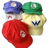 Katara - Gorra para disfraz de Super Mario Bros para niños y adulto, color Amarillo