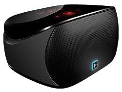 Wireless Boombox for iPad - Tragbarer Lautsprecher für iPod - Schwarz