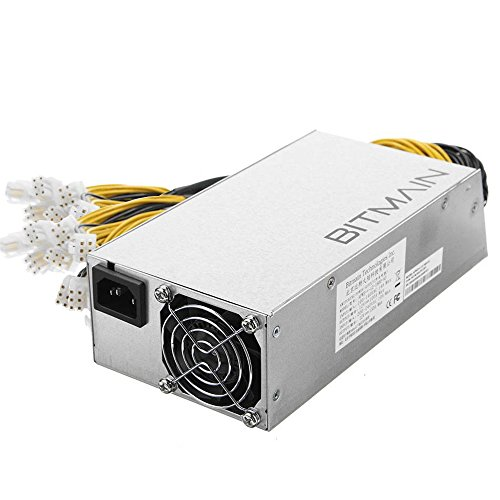 Bitcoin Miners Antminer S9 L3 D3 Stromversorgung APW3++ PSU im Lager Schnell Versand 1200W @ 110V 1600W @ 220V