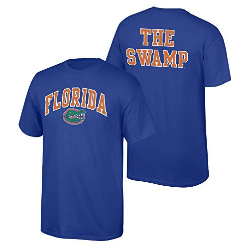 eLITe Fan Shop NCAA Men's Florida Gators T Shirt Team Color Back Florida Gators Royal Large - Royal Blue Gator