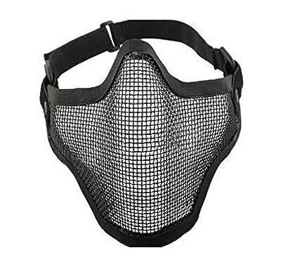 Unicoco EA Wüste Crops DC-01 Voll-Gesicht Schädel-Maske Windschutzscheibe Mask (Schwatz) Ultra Hohe Qualität von Unicoco auf Outdoor Shop