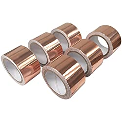 Direct Products Ruban adhésif anti-limaces en cuivre ruban Répulsif 30mm x 4m de long