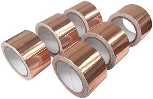Fusion Kleber (Schneckenabwehr Kupferband 30mm x 4m - 6 rollen)