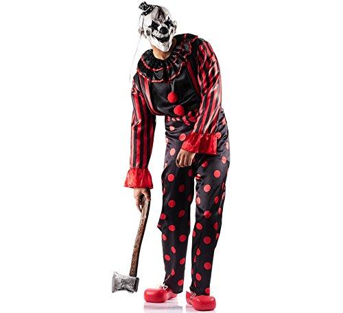 Imagen de disfraz de payaso diabólico para hombre