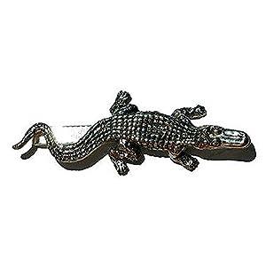 Krawattenklammer crocodile