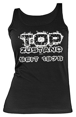 Geburtstag 40 Jahre Geschenk Damen Shirt Leiberl Mama Geschenk Zum 40 Geburtstag Tank Top Tanktop Freundin Geburtstagsgeschenk Top Zustand Seit 1978 Gr: L