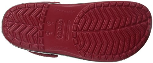 crocs Unisex-Erwachsene Crocband Clogs Rot (Pepper)