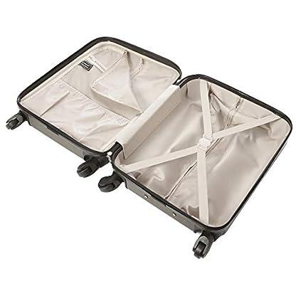 Aerolite 55 x 40 x 20 Ryanair máximo de 40 L Ligero Carcasa rígida Equipaje de Mano Cabina Maleta con 4 Ruedas, British Airways, Jet2 y más (carbón)