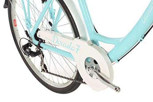 Barracuda Women's Dorado 7 Bike, Turquoise, Size 17