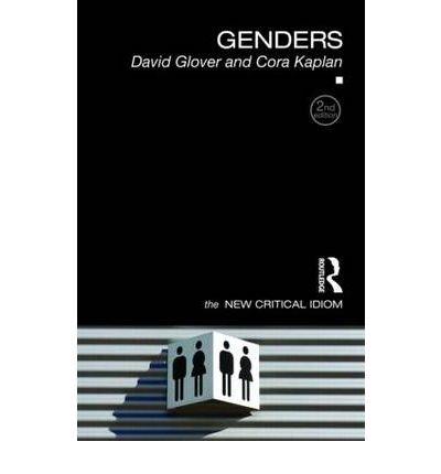 Genders. Routledge. 2008.