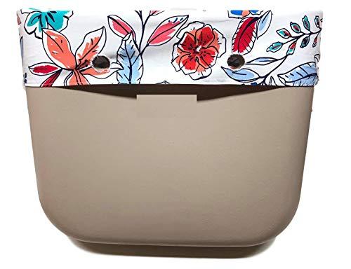 Frühlings Blumen - Trim Bordüre TaschenUmrandung- für zB O Bag Classic Soft Blume Trim