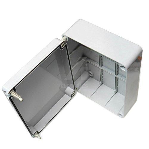 Caja de conexiones, 300x 220x 120mm, carcasa impermeable adaptab