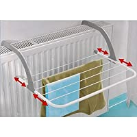 Gagitech 2788990 Radiator Airer With 5 Adjustable Arm For Drying Cloth, Max Temp 70c