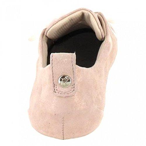 Paul Green 4554-102, Chaussures de Ville à Lacets Pour Femme metallic/rose