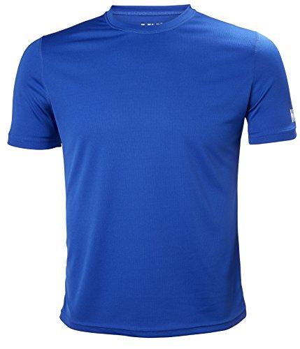 Helly Hansen HH Tech T, Camiseta para Hombre, (Azul 563), XXX-Large (Tamaño del Fabricante:3XL)