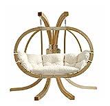 AMAZONAS Globo Royal Stand Gestell für Hängesessel Hängekorb aus FSC Fichtenholz wetterfest ca. 240 x 180 x 150 cm bis 200 kg