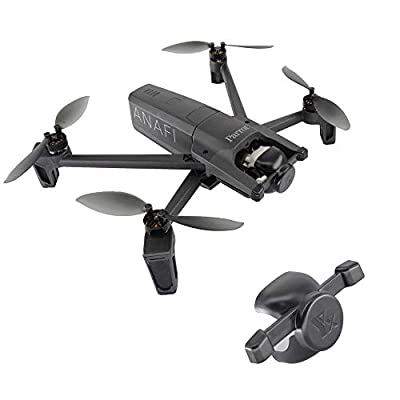 Tineer Accessories Kit Parrot Anafi Drone Protection Cap Moto Cover + Landing Gear Leg Height Extender + Gimbal Camera Protection
