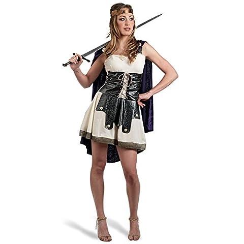 Costume de romaine sexy - Robe, cape, serre-tête - Idéal pour le Carnaval - Pour dame - S