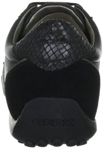 Geox D0112b4322c9997, Sneaker Donna Nero (BLACK C9997)