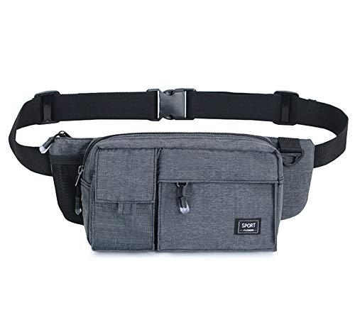 ddc1530280b0 Estwell Fanny Pack Bum Waist Bag Travel Holiday Money Belt Pouch 3 Zip  Pockets Outdoor Sport Hiking Running Waist Pack for Men Women