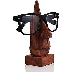 Classic Hand Palisander nasenförmigen Linsen Brillenhalter , dekorative Glashalter , Nase Brillenhalter ,Spezielle Geschenke am Karfreitag