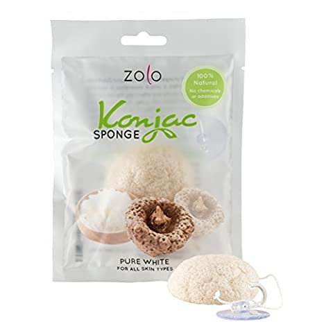 Natural Konjac Facial Cleanser – Bath Sponge for Facial Care and Body Wash