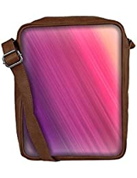 Snoogg Colorful Pattern Multicolor Sling Bags Crossbody Backpack Chest Day Pack Travel Bag Book Bag For Men &...