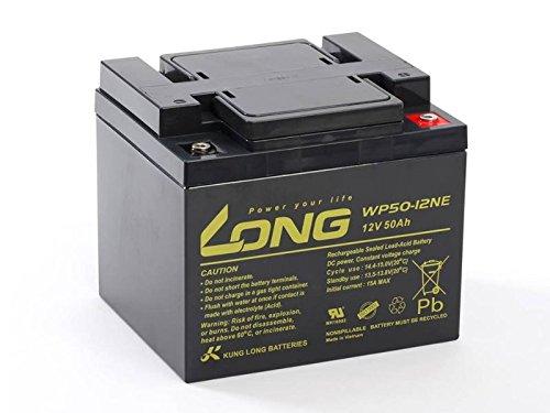 Akku kompatibel A04 12 040 12V 50Ah AGM Blei Battery VRLA wie 40Ah zyklenfest (40ah Agm Batterie)