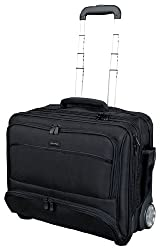 Lightpak Koffer Lightpak 46115 - Business Laptop Trolley Sky, aus Schwarzem Nylon 47 cm 40 liters Schwarz 10100193