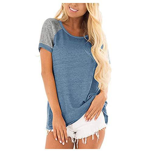 Femme Chemisier Drapeau Américain Imprimer,Femme Bouton Col V Hauts Blouse Chic Tee Shirt Chemise Ouvertes Bouton Devant Haut Blouse Top Tee-Shirt Pullover Sweat-Shirt,T Shirt Femme Pas Ch