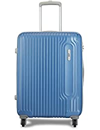 VIP Track Polycarbonate 56 Cms Artic Blue Hardsided Cabin Luggage (Track)
