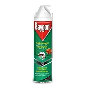 Baygon - mousse active fourmis - 400ml