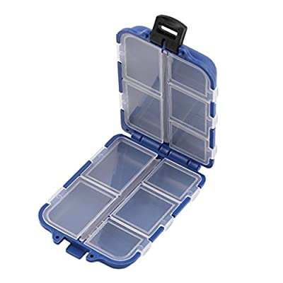 YTYCJSFH 10 Compartments Storage Case Box Fly Fishing Lure Spoon Hook Bait Tackle Box by YTYCJSFH