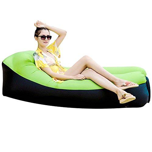 Wasserdichtes Aufblasbares Sofa, Aufblasbare Liege, Tragbar Aufblasbarer Sitzsack, Aufblasbare Couch für Reisen, Luft Liege für Camping, 240x75x70CM Air Sofa