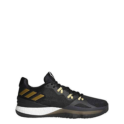 adidas Herren Crazy Light Boost 2018 Basketballschuhe Schwarz (Negbás/Dormet/Carbon 000) 50 EU -