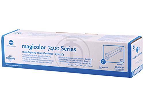 Magicolor 7450 Toner Cyan (Konica Minolta original - Konica Minolta Magicolor 7450 Series (8938-624) - Toner cyan - 12.000 Seiten)