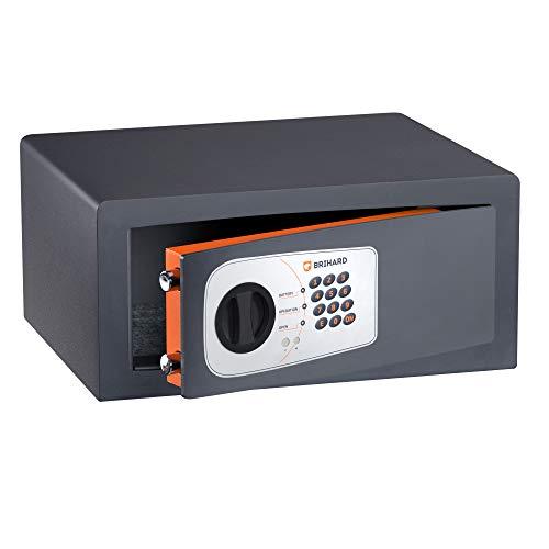 Brihard Protector blindata cassaforte elettronica, grigio, 1.50V
