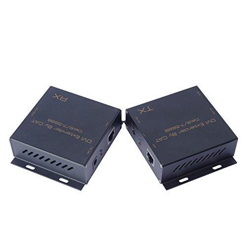 DVI-CAT-DVI Extender Verwendung Single cat-6 oder cat-7 Kabel entsprechen dem Standard der IEEE-568B Unterstützung bis zu 1080P (Dvi Cat)