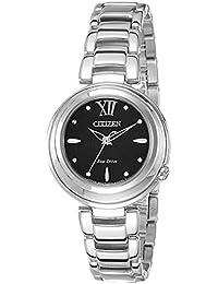 Citizen Analog Black Dial Women's Watch - EM0331-52E