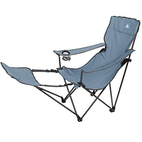 10T Campingstuhl Quickfold Plus Arona Klappstuhl Gartenstuhl Stuhl mit Fußstütze Getränkehalter