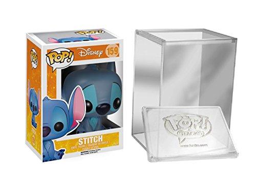 Funko Pop: Disney: Lilo & Stitch - Seated Stitch Figure + FUNKO PROTECTIVE CASE