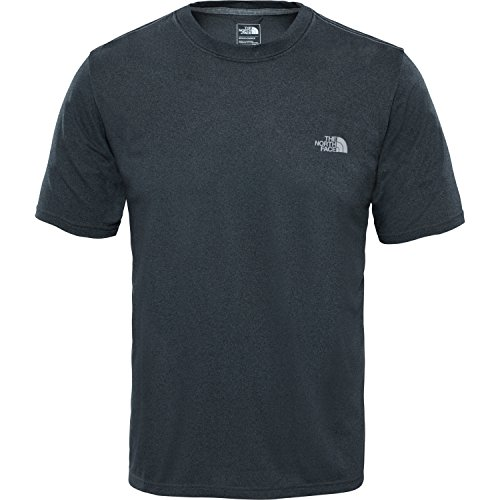 north-face-mens-reaxion-amp-crew-t-shirt-grey-tnf-dark-grey-heather-large